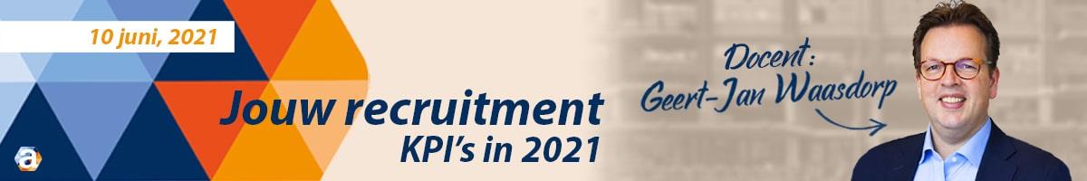 Recruitment KPI's in 2021- banne